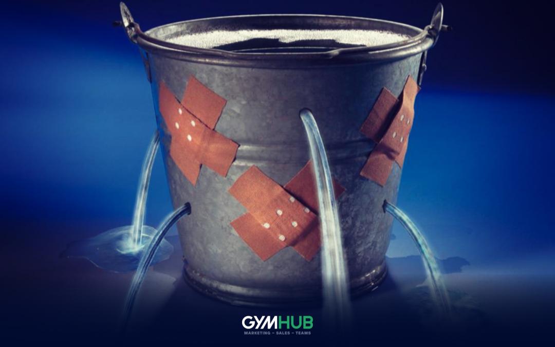 Bucket Leaking Water