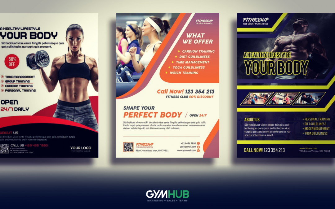 Great Gym Flyer Samples