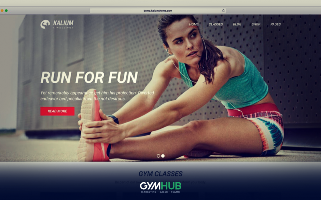 A Successful Fitness Website